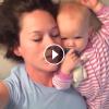 Annesini Uyandırmaya Çalışan Sevimi Bebek