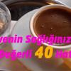 Kahvenin Sağlığınız İçin de Çok Değerli 40 Hatırı Var!
