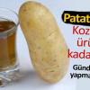 Patates Suyu İle Cilt Ve Yüz Bakım Maskesi