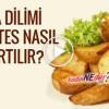Elma Dilim Patates Nasıl Yapılır?