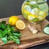 Limon Zencefil Salatalık ile Şifa Detoksu