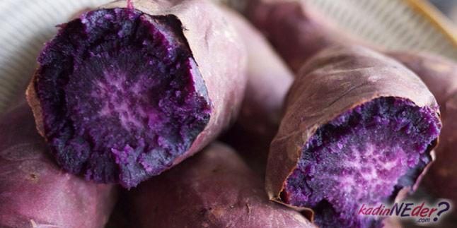 mor patates diyabet