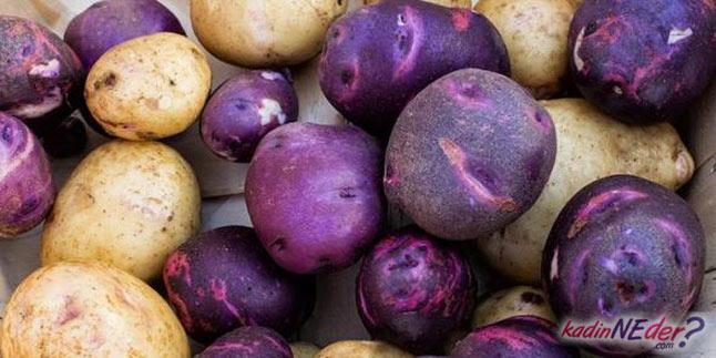 mor patates faydaları