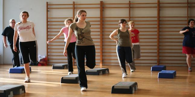 step-aerobik