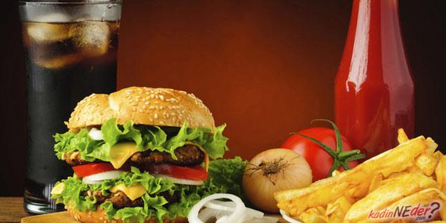 fast food tüketmeyin