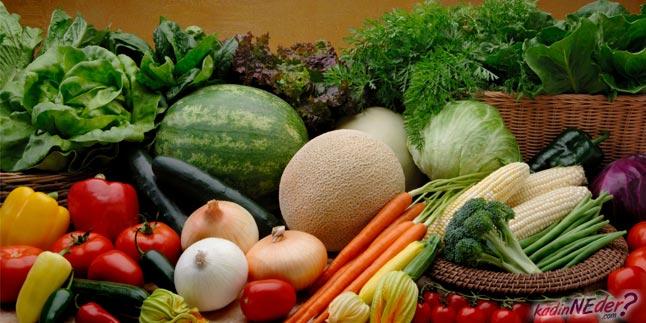 sebze tüketimini arttırın