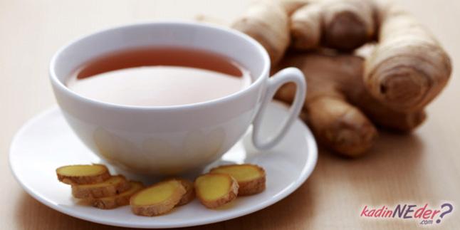 zencefil çayı