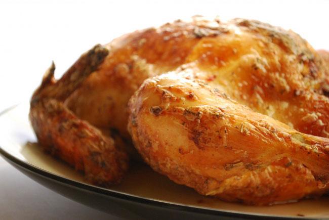 tüm tavuk kızartma