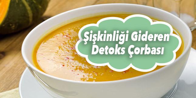 detoks çorbası