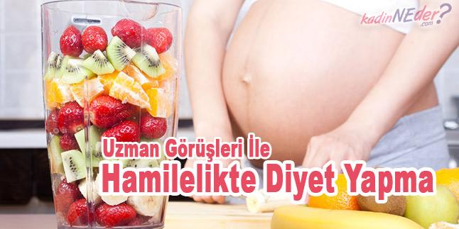 hamilelikte diyet