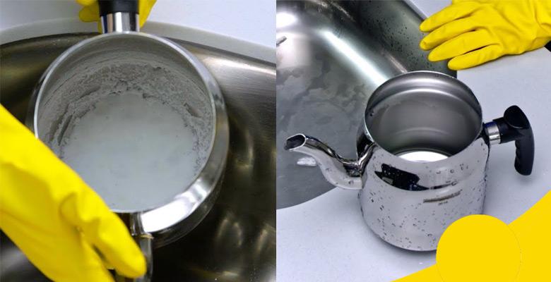 çaydanlık temizleme