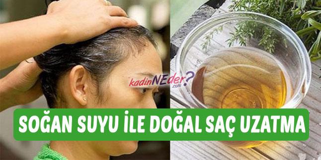 soğan suyu ile saç bakımı