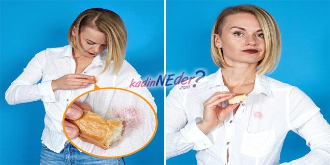 ekmekle ruj lekesi çıkarma