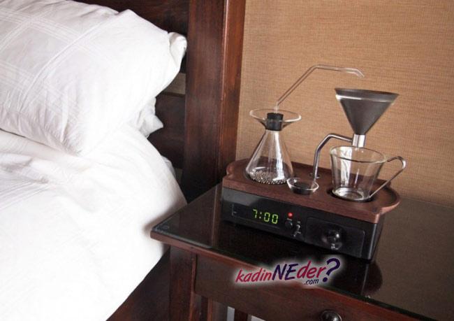 kahve yapan saat